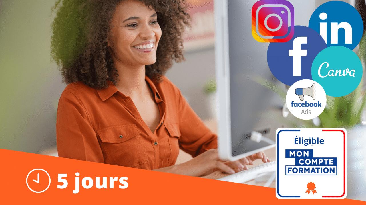 Réseaux Sociaux Facebook Ads Intermédiaire Formation Martinique Guadeloupe Guyane